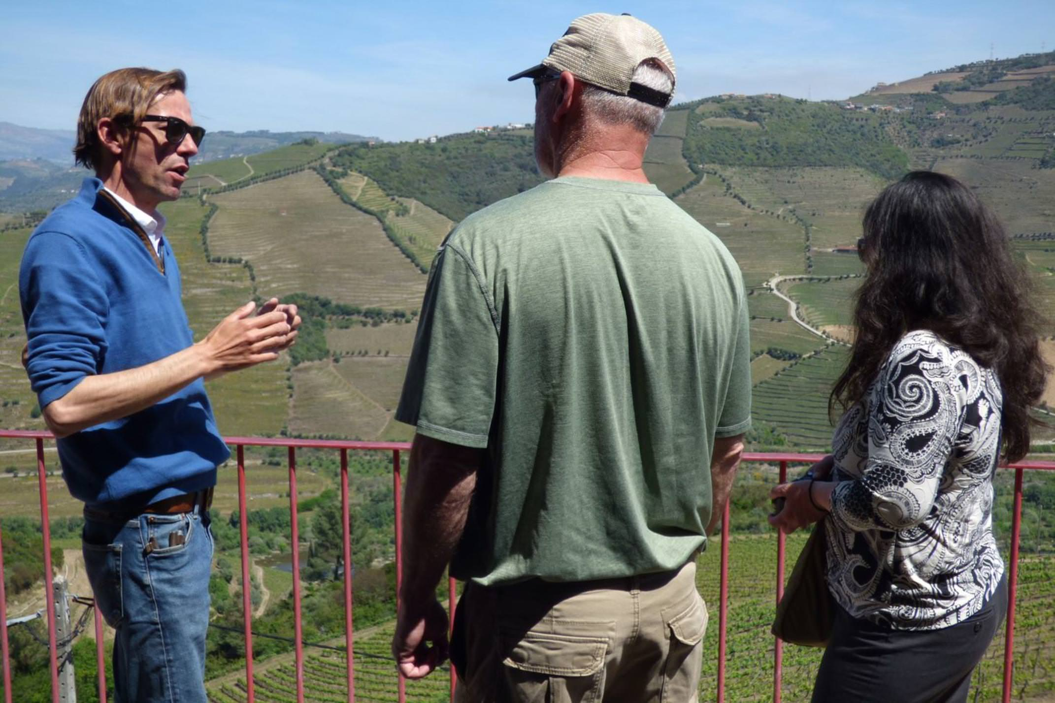 Paulo's giving great insights into his parents' winery