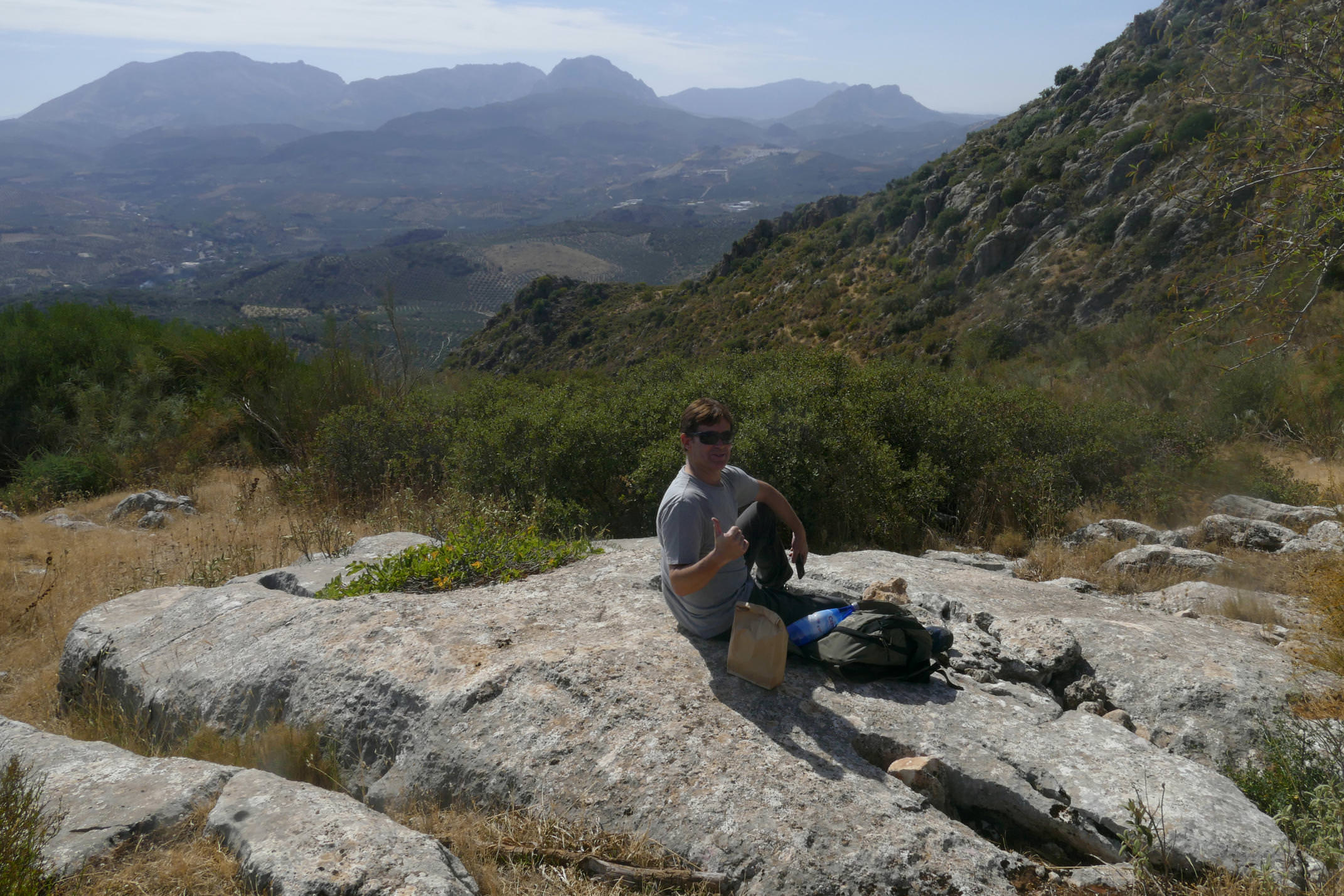 Walking with Tim in Andalucía