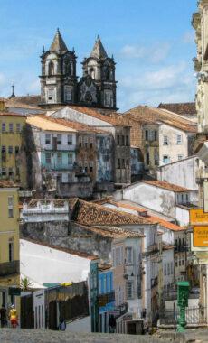 Brazil salvador old town of salvador de bahia