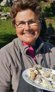 Spain picos de europa centenary group covadonga shepherd humartini gamoneu cheese
