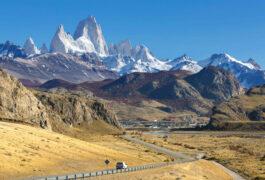 Argentina patagonia mount fitz roy los glaciares national park patagonia