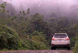 Costa rica tenorio volcano national park driving to tenorio 1