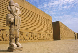 Peru north chan chan ruins trujillo peru
