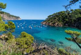 Spain catalonia costa brava aiguablava shuttestock
