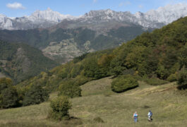 Spain picos inn to inn liebana day 2 village hikers dobarganes 2 c diego