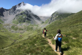 Spain pyrenees family hiking kids c senderos ordesa
