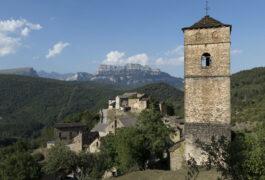 Spain pyrenees ordesa yeba