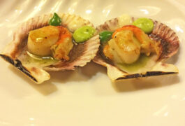 Spain rioja moncalvillo foodie scallops c xabi