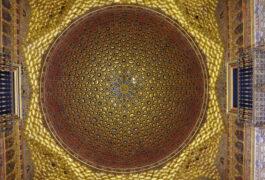 Spain seville alcazar ceiling chris bladon pura