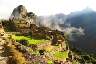 Peru machu picchu in sunlight c michael edey pura