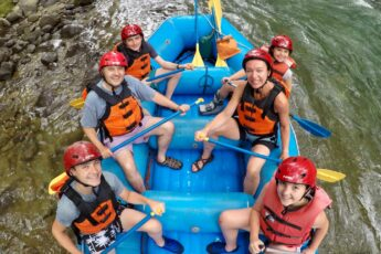 Costa rica rafting claire johnson family