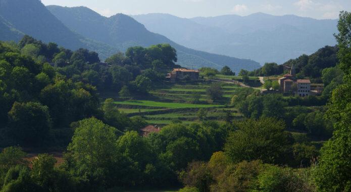 Spain catalonia La Garrotxa from Mas Can Batlle Chris Bladon 162