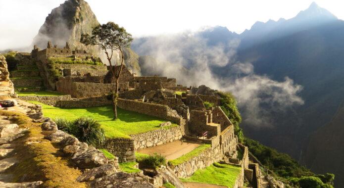 Peru machu picchu in sunlight c michael edey pura