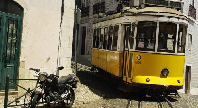 Portugal lisbon tram chris bladon