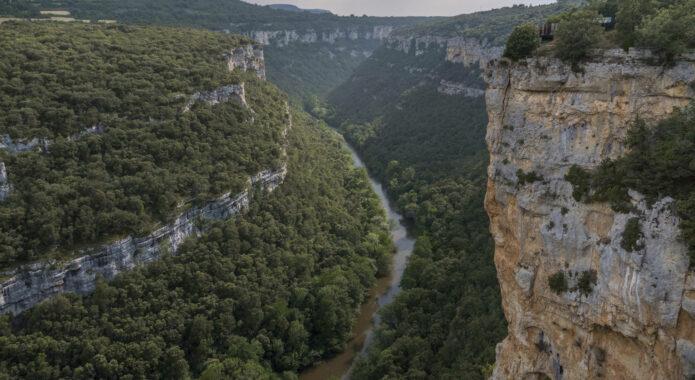 Spain burgos ebro canyon pesquera valdelateja