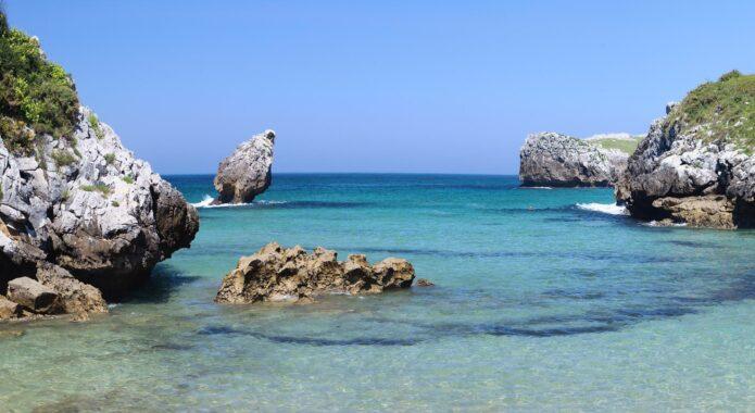 Spain picos de europa llanes beach