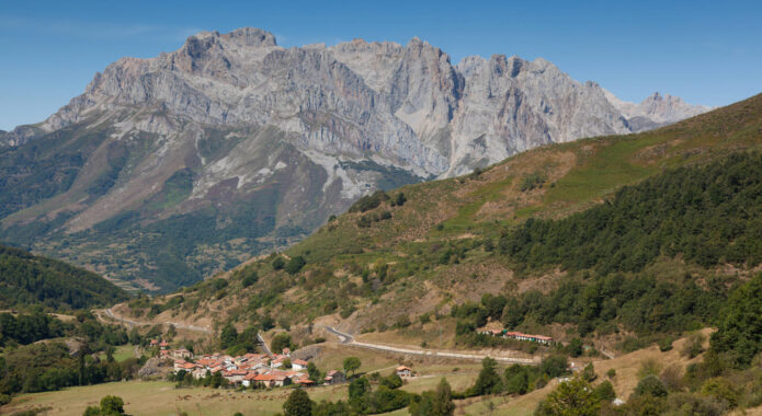 Spain picos de europa valdeon
