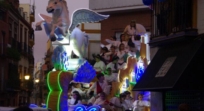 Spain seville los reyes magicos parade chris bladon jan 2019 33