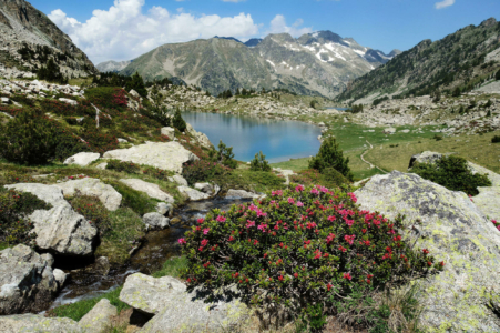 High mountain hikes