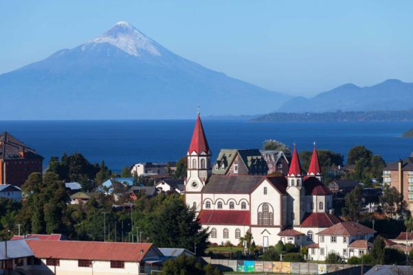 Chile lake district puerto varas patagonia chile