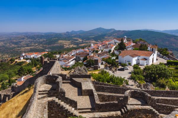 Portugal alentejo marvao aerial view shutterstock