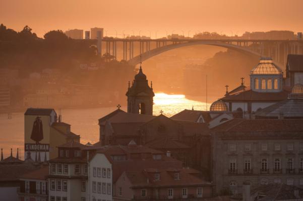 Portugal porto sunset 2