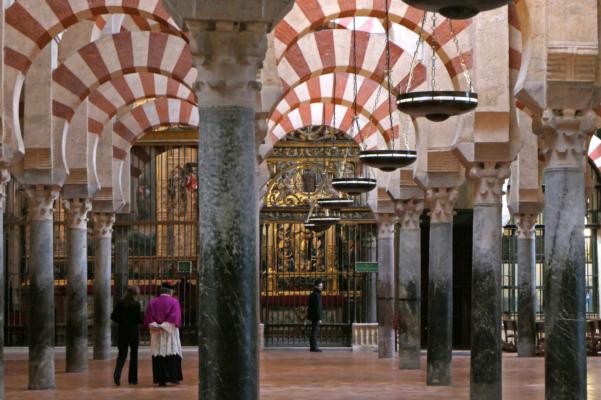 Spain andalucia cordoba mezquita priest mosque c diego