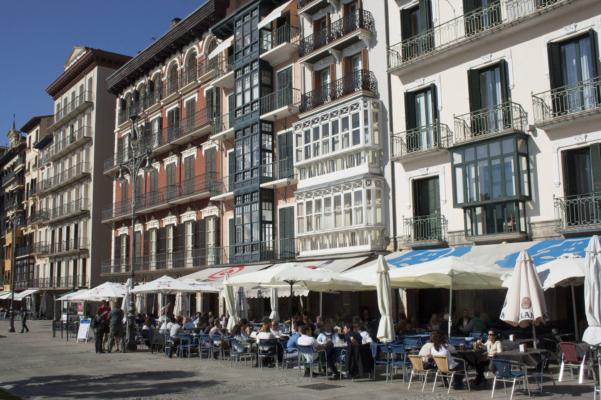 Spain pamplona bars square c dmartin