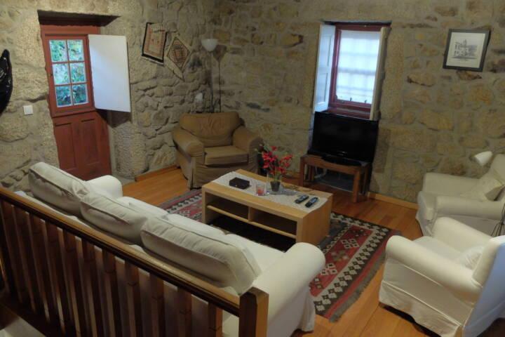 Portugal Minho River casa ferreirinha living room c laurent pura