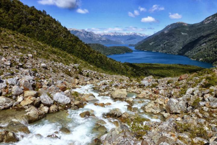 Argentina Ruta 40 Alerces Esquel Lago Menendez from the glacier C Jeremy Wood