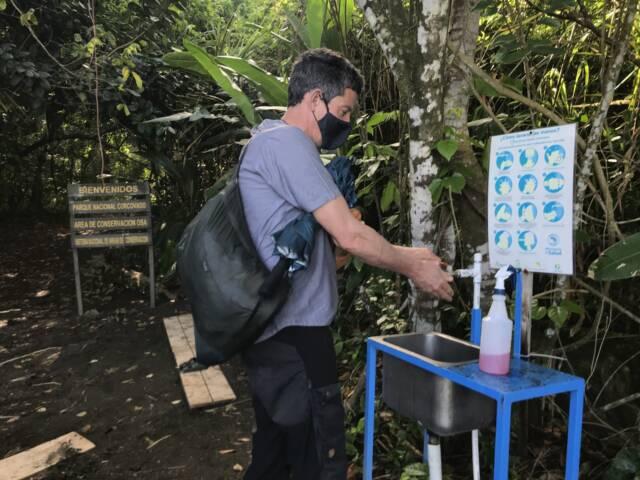 Costa rica hand washing covid c thomas power pura aventura