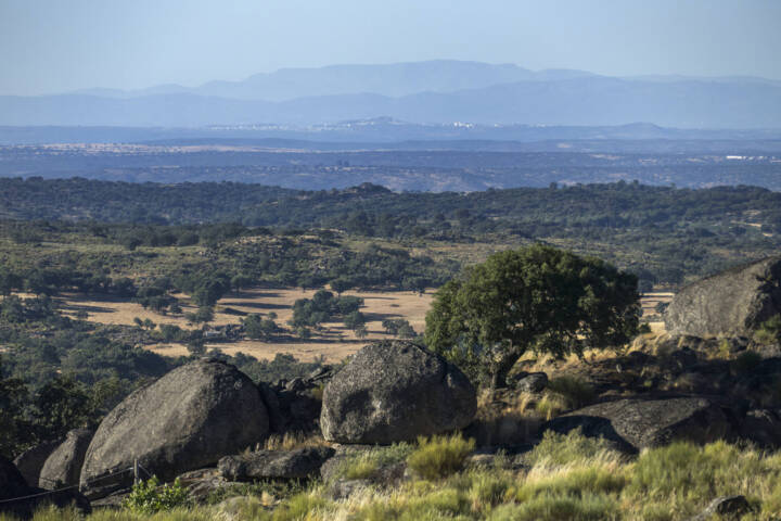Portugal alentejo castelodavide marvao landscape