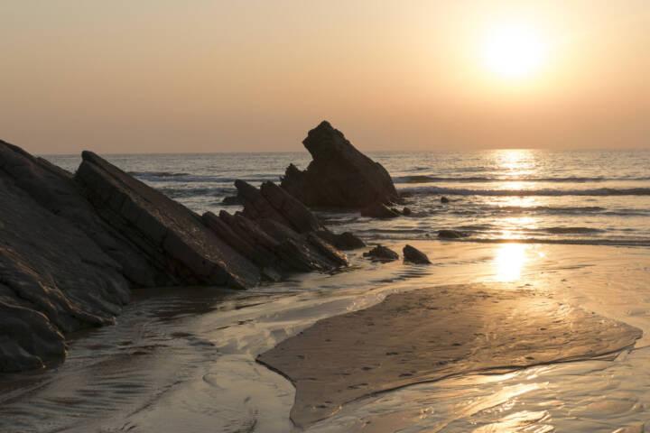 Portugal alentejo rota vicentina sunset