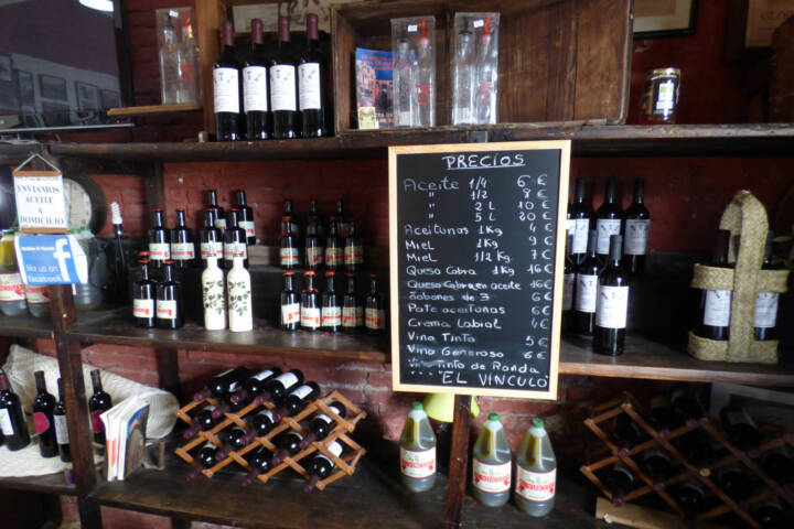 Spain andalucia cadiz grazalema olive oil mill shop