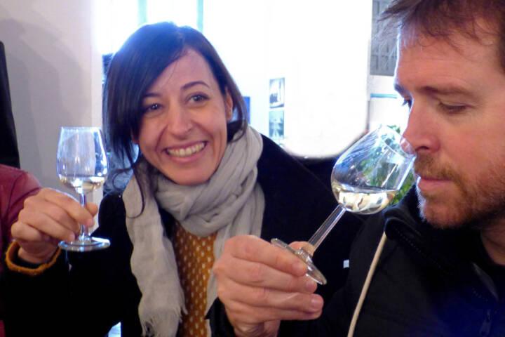 Spain andalucia cadiz jerez domecq winery sherry tasting