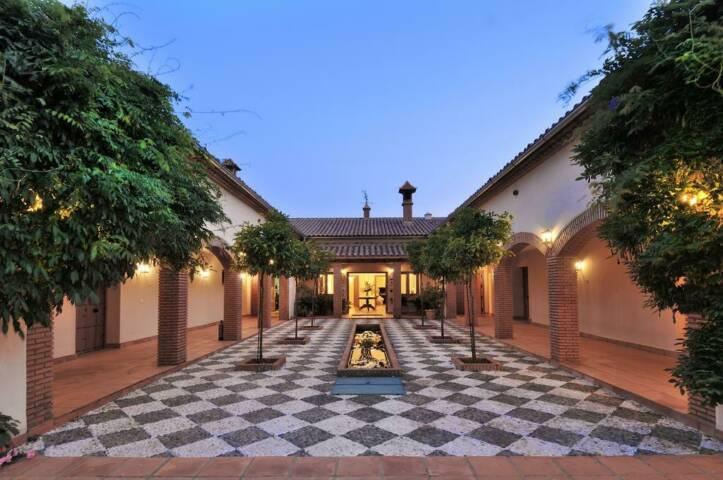 Spain andalucia finca la fronda night c hotel