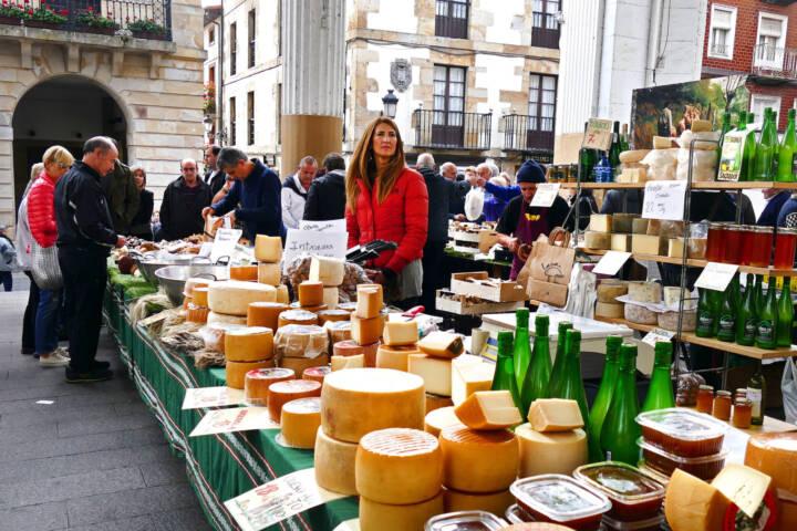 Spain basque ordizia market cheese c david pura