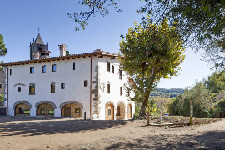 Spain catalonia inn to inn la rectoria de sant miquel exterior