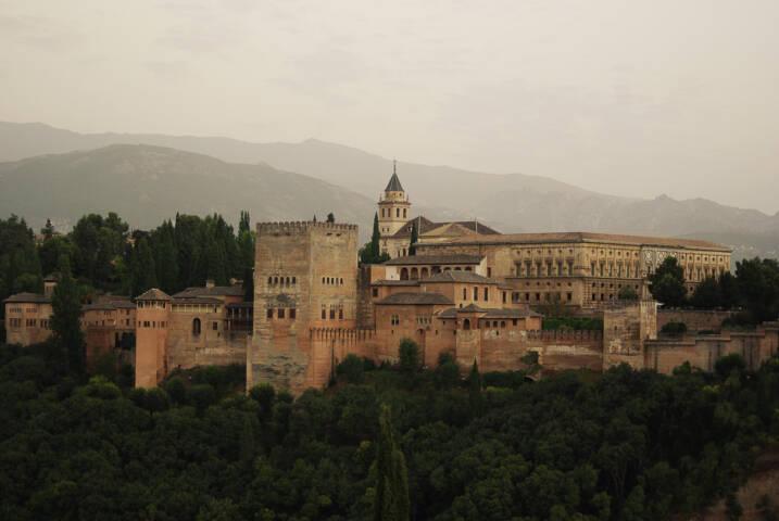 Spain granada alhambra from san nicholas chris bladon