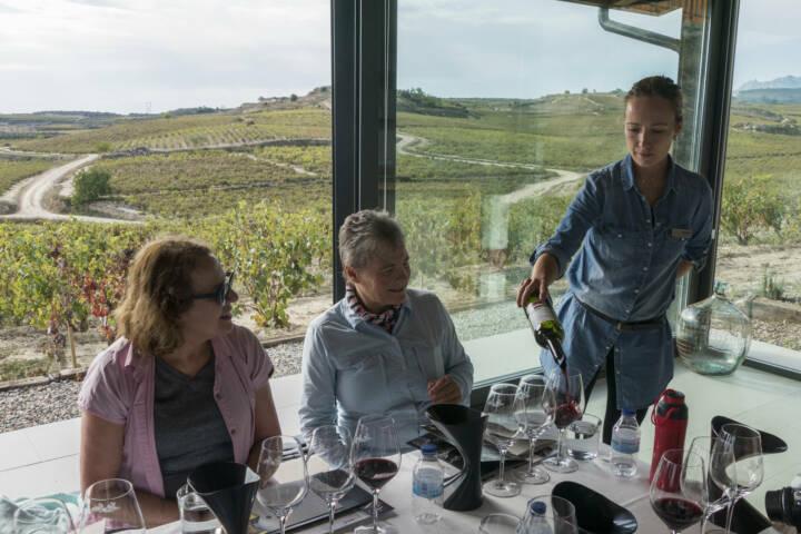 Spain rioja winery luis cañas tasting room
