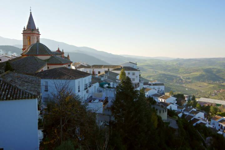 Spain andalucia zahara de la sierra c chris bladon pura