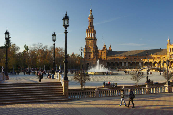 Spain seville plaza de espana chris bladon pura 2