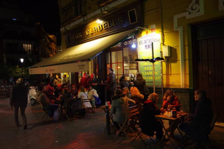 Spain seville tapas bar at night c chris bladon pura