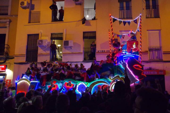 Spain seville three kings parade chris 1