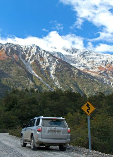 Chile patagonia carretera austral exploradores valley jeep c jeremy head