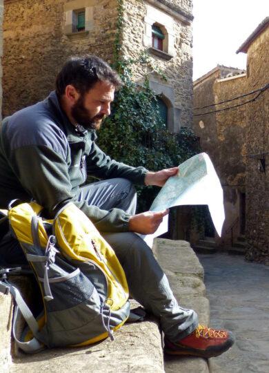 Spain catalonia girona empurda map reading madremanya
