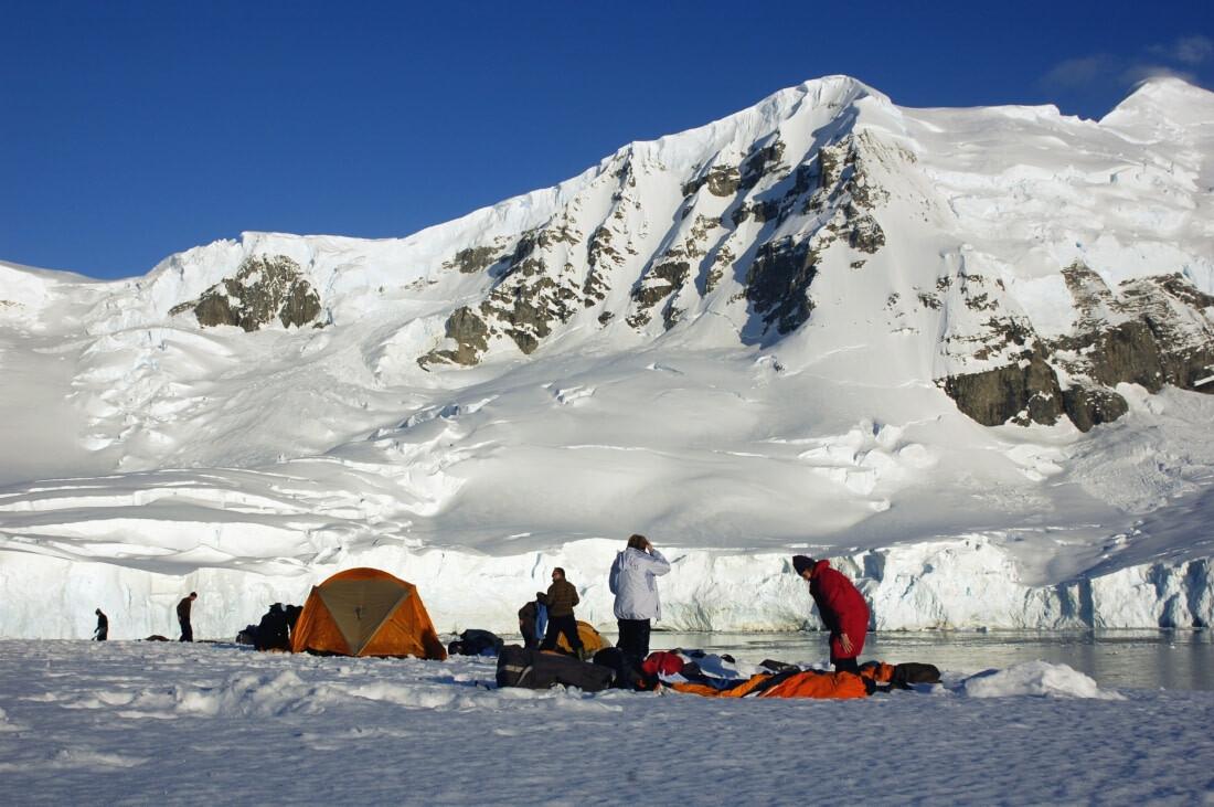Antarctica camping oceanwide expeditions