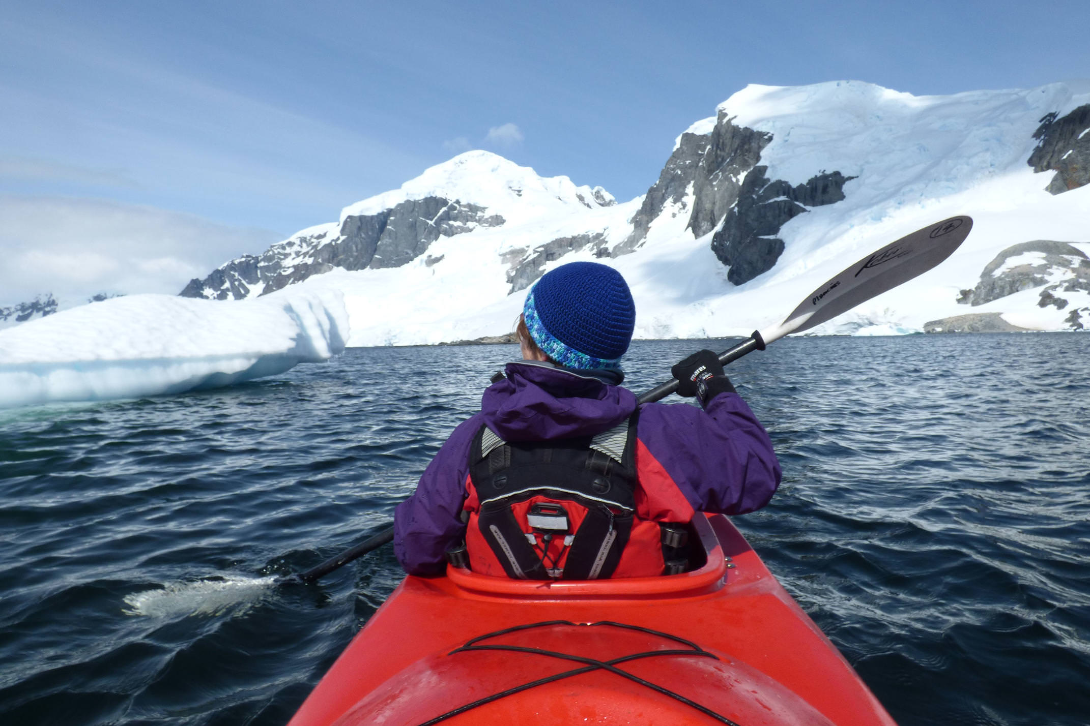 Antarctica kayaking cuverville island 2 c diego