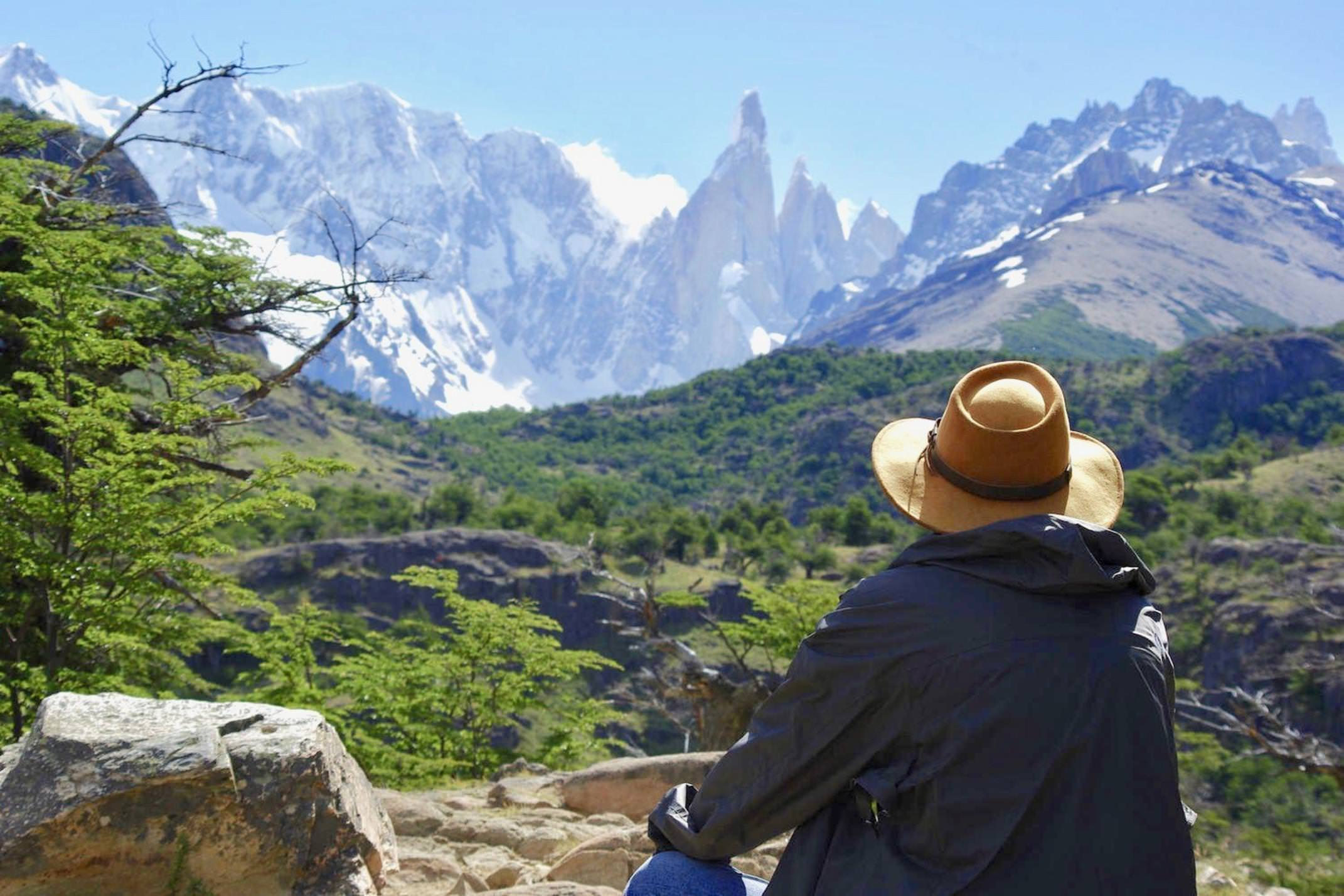 Argentina patagonia el chalten looking at cerro torre chris bladon