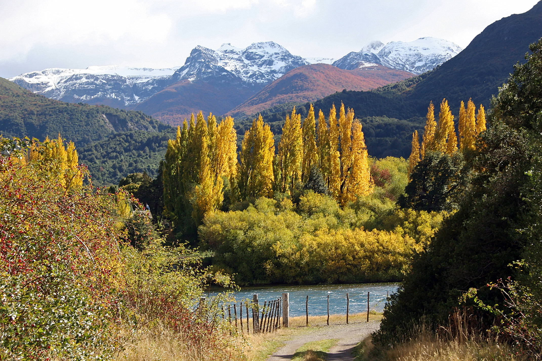 Argentina patagonia ruta 40 esquel fall colours c jeremy wood